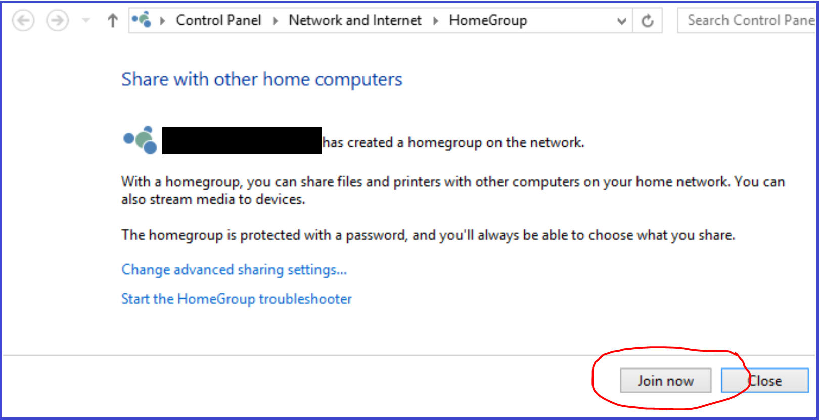 Is Homegroup available on windows 10 k7Dl0.png