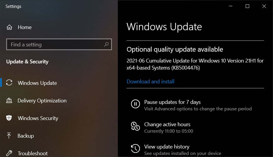 Windows 10 KB5003690 (21H1, 20H2) released with a speed boost KB5003690-update.jpg