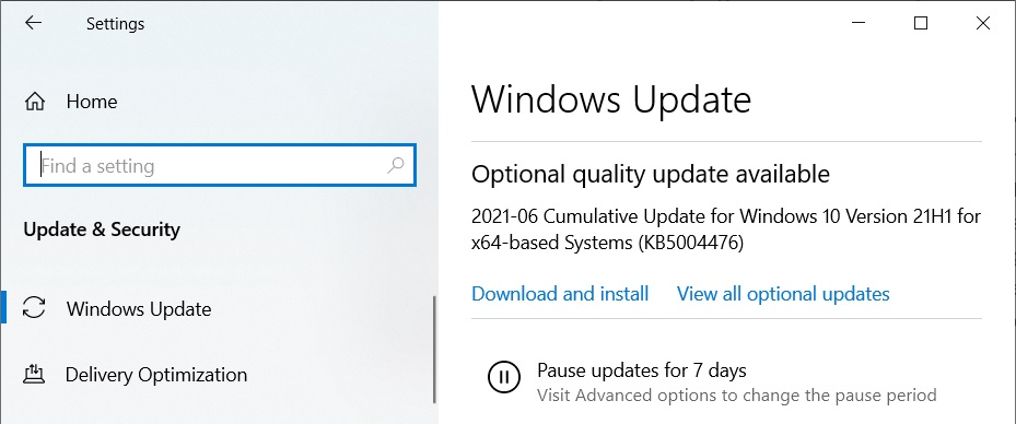 Windows 10 KB5004476 emergency patch released to fix Xbox issues KB5004476-update.jpg