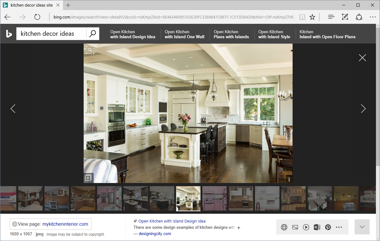 Microsoft Bing now delivers more visually immersive experiences KitchenDecorIdeas.png