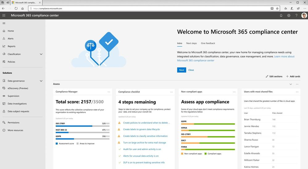 Introducing new Microsoft 365 security center and compliance center large?v=1.jpg