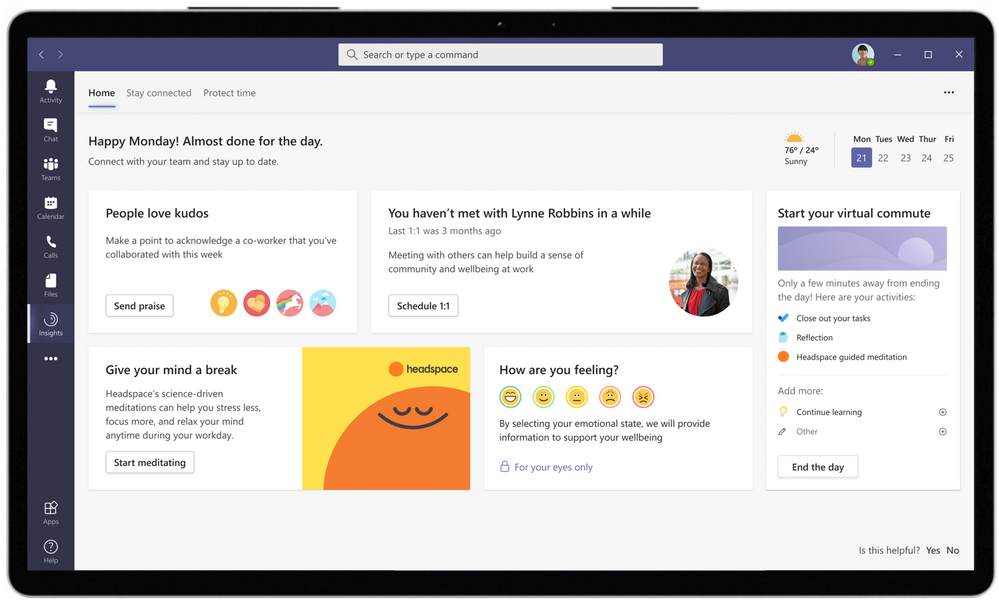 #MSIgnite 2021: New inclusive features in Microsoft Teams and more large?v=1.png