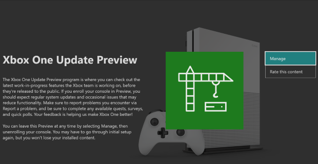 Xbox One Preview Alpha Skip Ahead 1910 Update 190706-1920 - July 10 Large_XboxOneUpdatePreview_Large-2-large.png