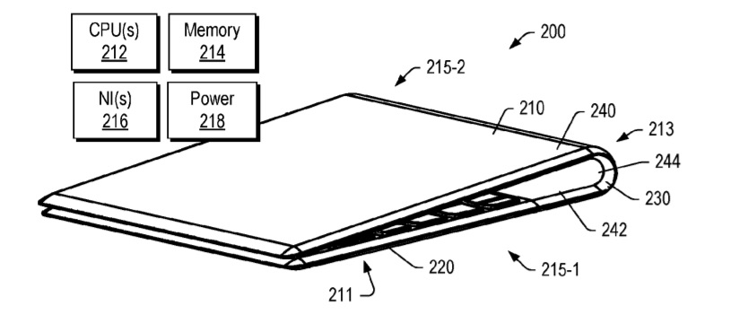 Patent hints at Lenovo's foldable Windows 10 devices with flexible body Lenovo-flex-patent.jpg