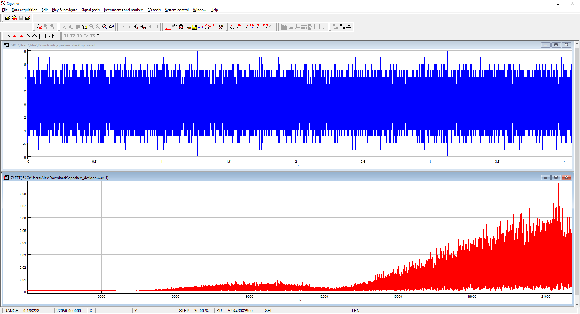 Others hear whistling noise in virtual meetings from my audio lHoVt.png