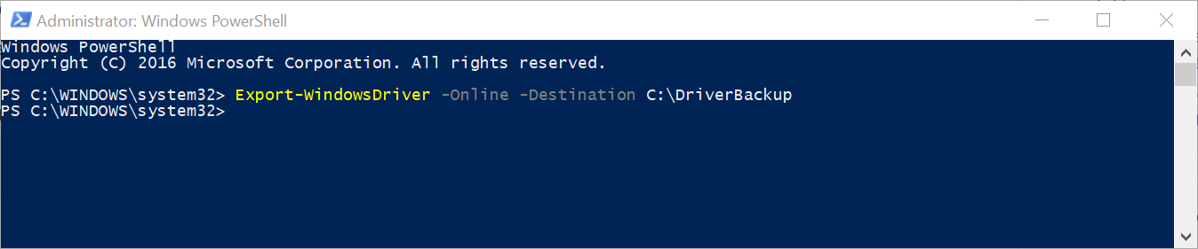 How to Backup and Import Device Drivers in Windows 10 Using PowerShell LNpslmZ.png