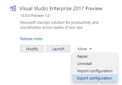 Visual Studio 2022 64-bit public preview will be released this summer lso-import-it-to-add-your-workloaf-configuration-to-a-new-or-existing-Visual-Studio-installation.jpg