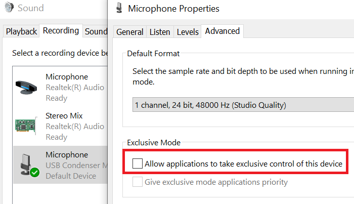 Microphone keeps resetting to 0 or 100 volume in Windows 10 Microphone-keeps-resetting-to-zero-volume.png