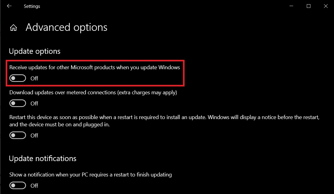 Windows 10 is getting support for additional Microsoft products updates Microsoft-product-updates.jpg