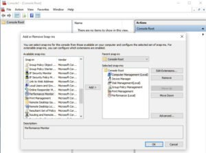 What is Microsoft Management Console (MMC) in Windows 10? MMC-Add-Remove-Snapins-300x223.jpg