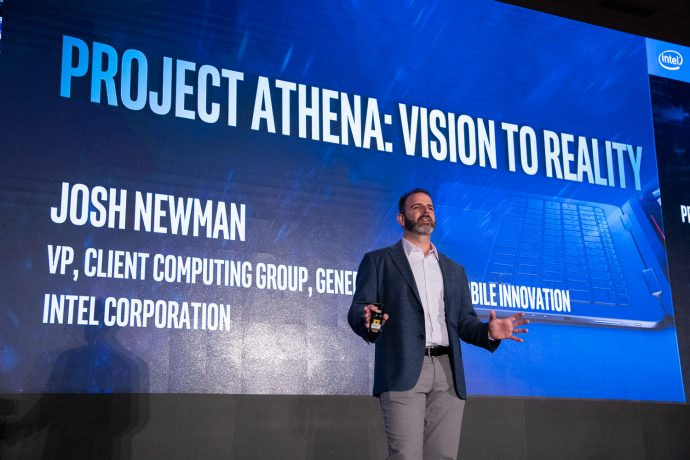 Intel Unveils Project Athena Open Labs to Optimize Laptop Components newman-intel-project-athena-690x460.jpg
