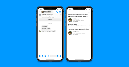 Facebook Messenger now helps to prevent unwanted contacts and scams NRP-MSGR-SafetyTips_A003.jpg