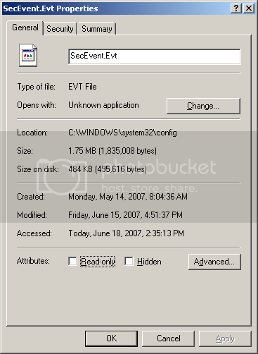 Windows 10 Home not forwarding events from event log. NTFSCompressEventLog.png