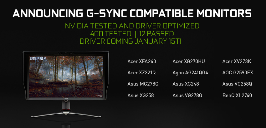 Samsung Introduces 27 inch 240Hz G-Sync Curved Gaming Monitor CRG5 nvidia-g-sync-compatible-monitors-850.jpg