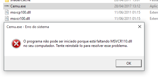 Reset windows 10 Pro /msvcr100.dll is missing error and my windows defender is gone oCGb7.png