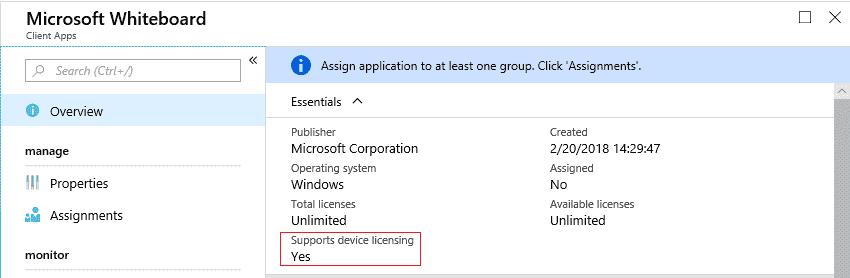 Set the Microsoft Whiteboard app on Surface Hub Offline-lic.png