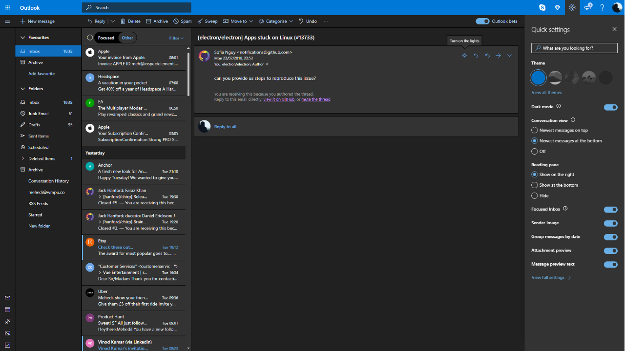 Why Doesn't Microsoft Implement Dark Mode by Time Function? outlook-dark.png