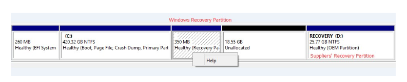 Windows 10 Update 2004: BSOD + Broken partition and explorer.exe error at startup - any help? partitions-10-png.png