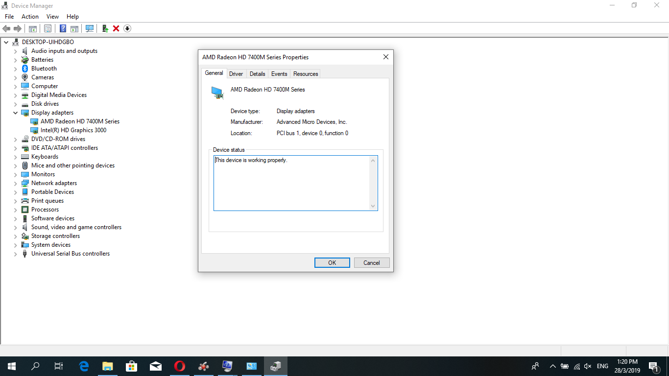 upgrading to windows 10 on dell inspiron N4050 model is showing AMD