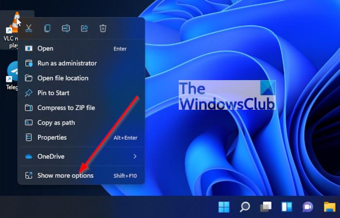 How to customize Windows 11 Taskbar area Pin-app-to-task-bar-from-Desktop.png