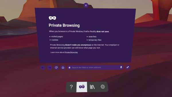 Firefox Reality now available for Oculus Quest privacy-1.png