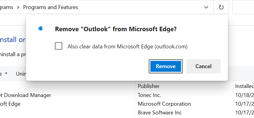 Microsoft ads Office Web Apps advertisement to Windows 10 PCs remove-from-microsoft-edge.png
