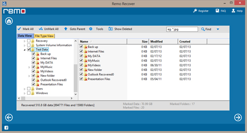 Recover Erased Data rescue-deletedfiles-view-recovered-files.jpg