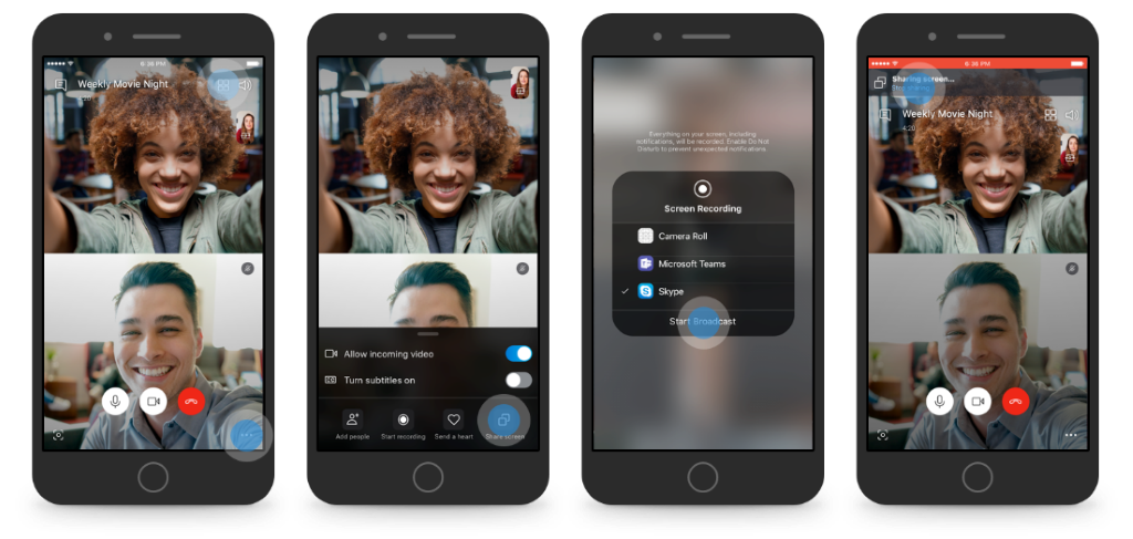 Screen sharing goes mobile and more with Skype on Android and iOS Screen-sharing-image-1.png