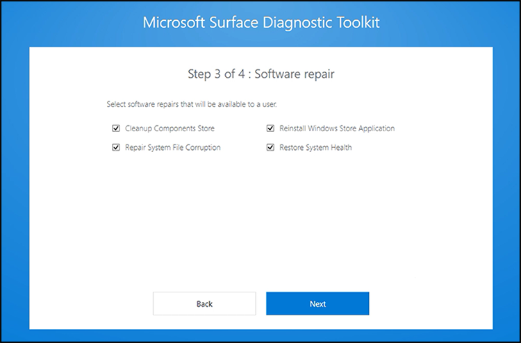 Use Microsoft Surface Diagnostic Toolkit in Windows 10 sdt3blog1.png