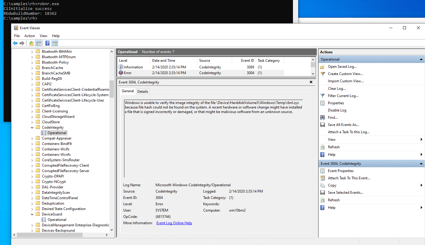 Windows Server 2022 Preview released secured-os-pc-event-log.png