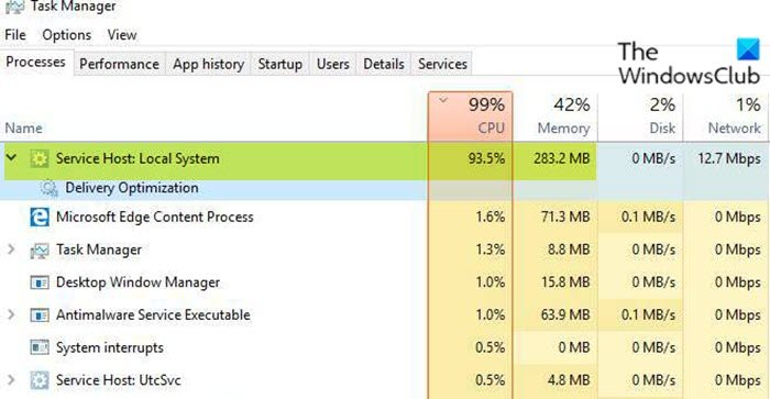 Service Host: Local System high CPU or Disk usage on Windows 10 Service-Host-Local-System-high-CPU-or-Disk-usage.jpg