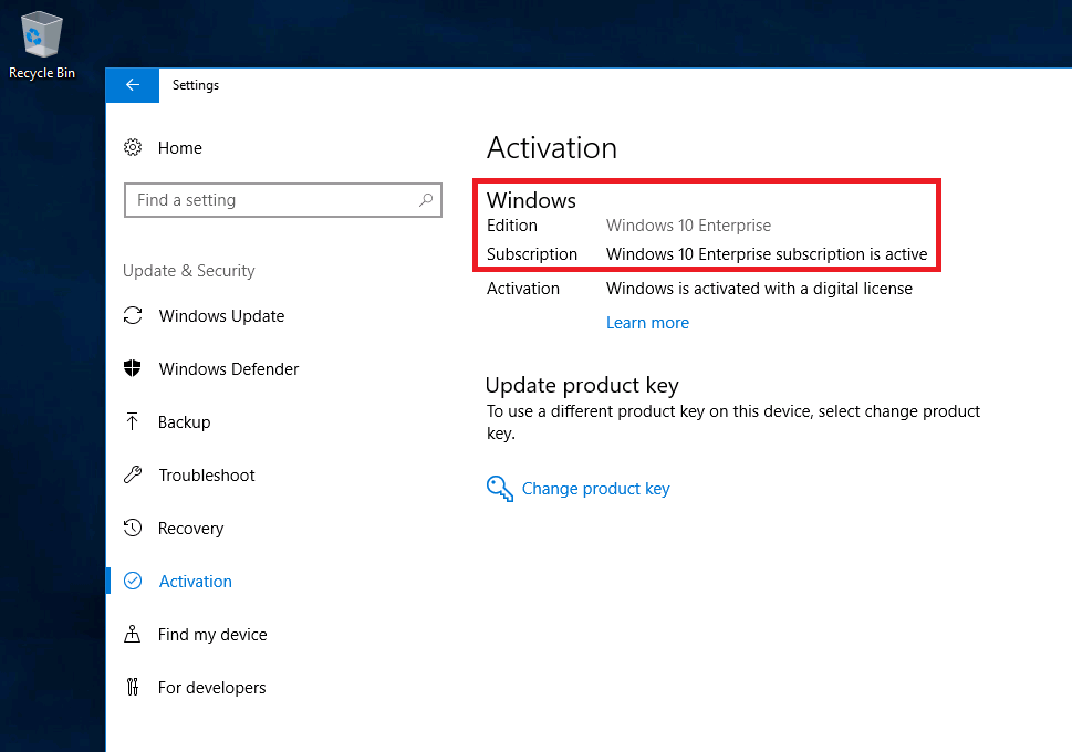 Activate non-licensed Windows 10 Pro with Windows Enterprise A3 subscription Settings-Activation-Cropped.png