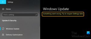 Fix Something went wrong, Try to reopen Settings later error on Windows 10 Something-went-wrong-Try-to-reopen-Settings-later-300x131.jpg