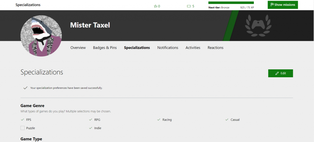 Xbox Ambassadors profile Specializations coming soon Specializations-Lea-template-1024x465.png