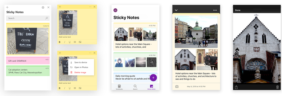 Sticky Notes v3.6 now available to everyone on Windows 10 v1803 higher stickynotes-3-6-1.png