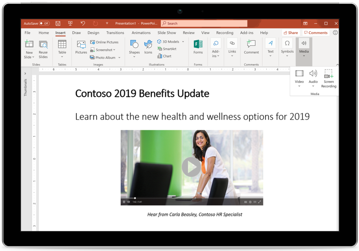 What is New to Microsoft 365 in April 2019 Stream-blog.png