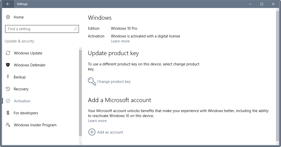 Transferring digital licence to another microsoft account SU1Ru.png