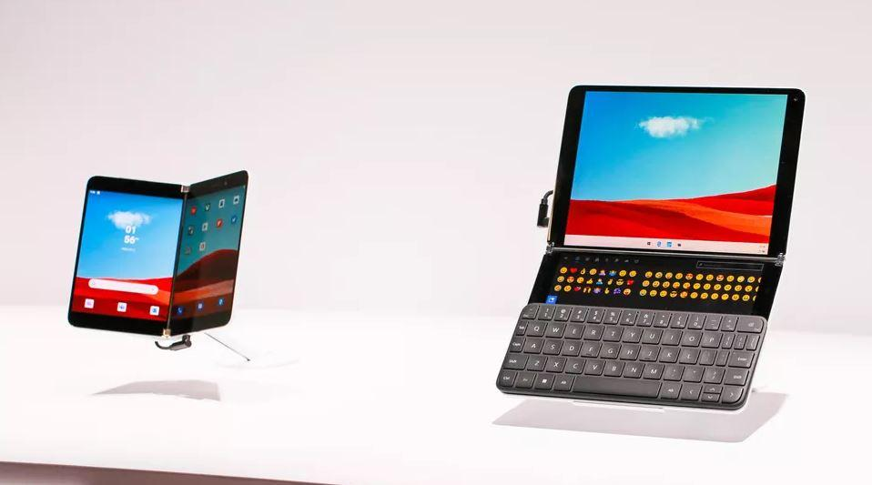 Developing new category of dual-screen devices for mobile productivity surfaceneoduodevstory.jpg