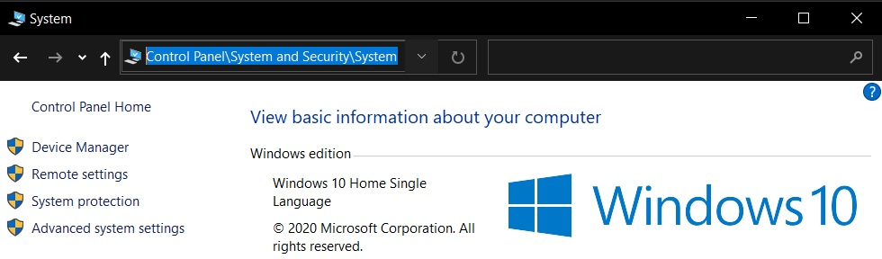Windows 10 hides one Control Panel feature, but you can still access it System-Control-Panel.jpg