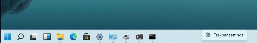 Hands-on with new Windows 11 Start Menu, arriving later this year Taskbar-settings-option.jpg