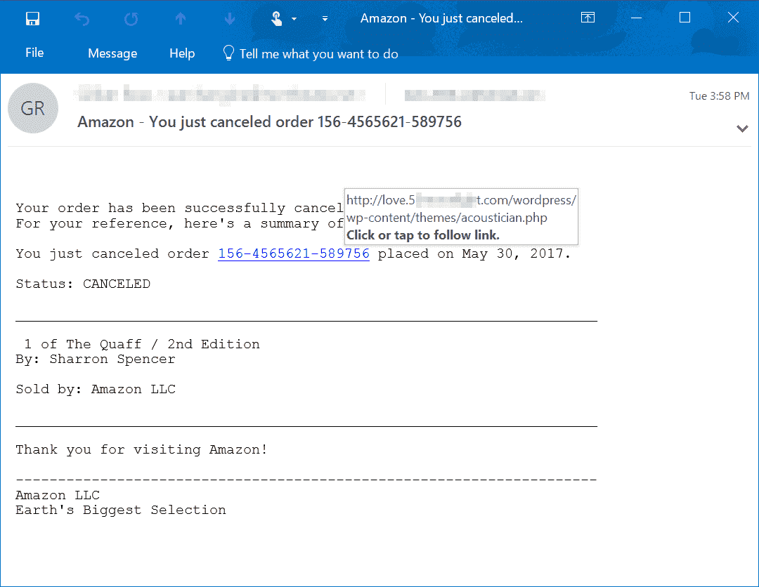 I'm getting what I think are scam emails that are spoofed to look like microsoft. tech-support-scams-from-email-2.png