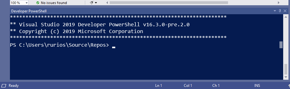 Introducing first preview of the new Visual Studio terminal terminal-img-1.png
