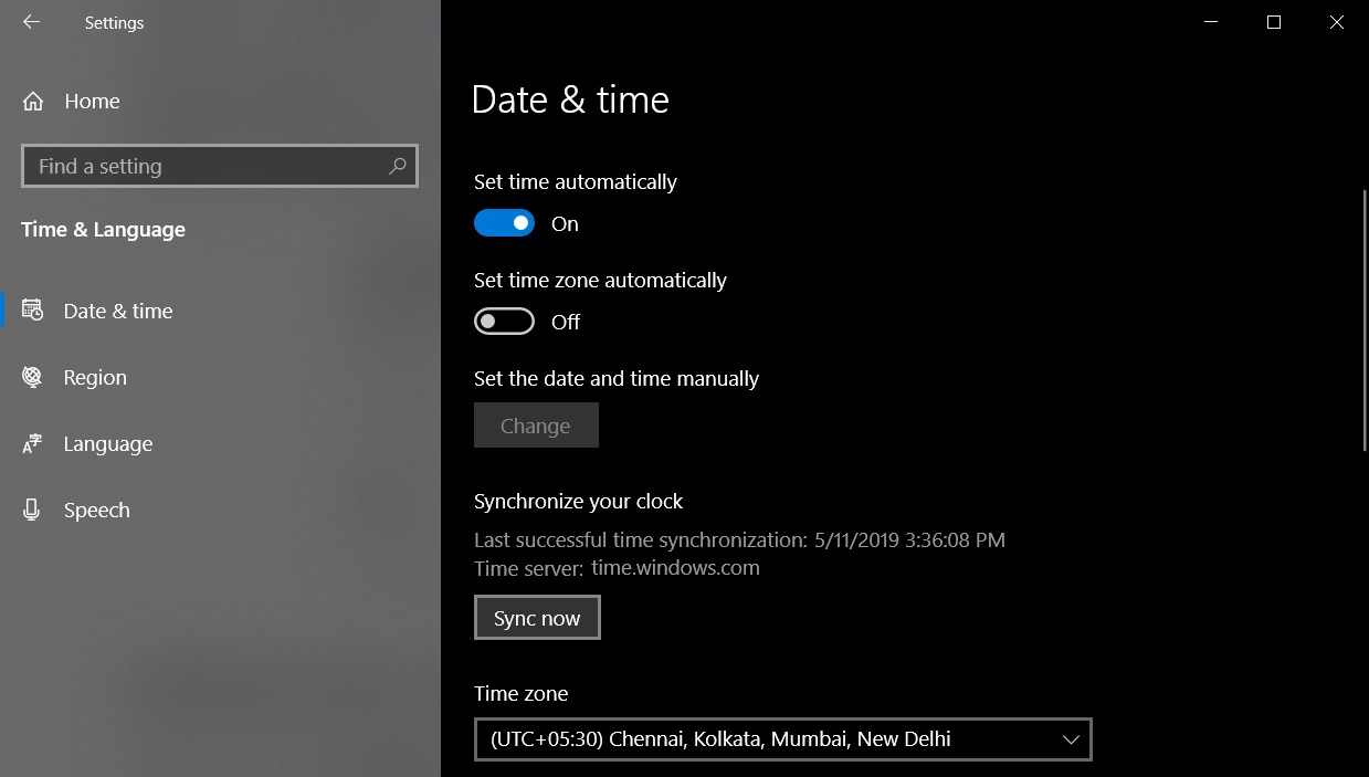 Windows 10 May 2019 Update: The best nifty improvements Time-Zone.jpg