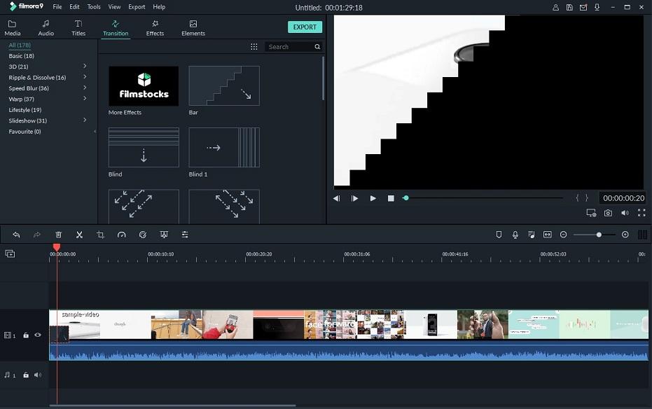Wondershare Filmora 9 review: Easy to use affordable video editor Transition-Filmora.jpg
