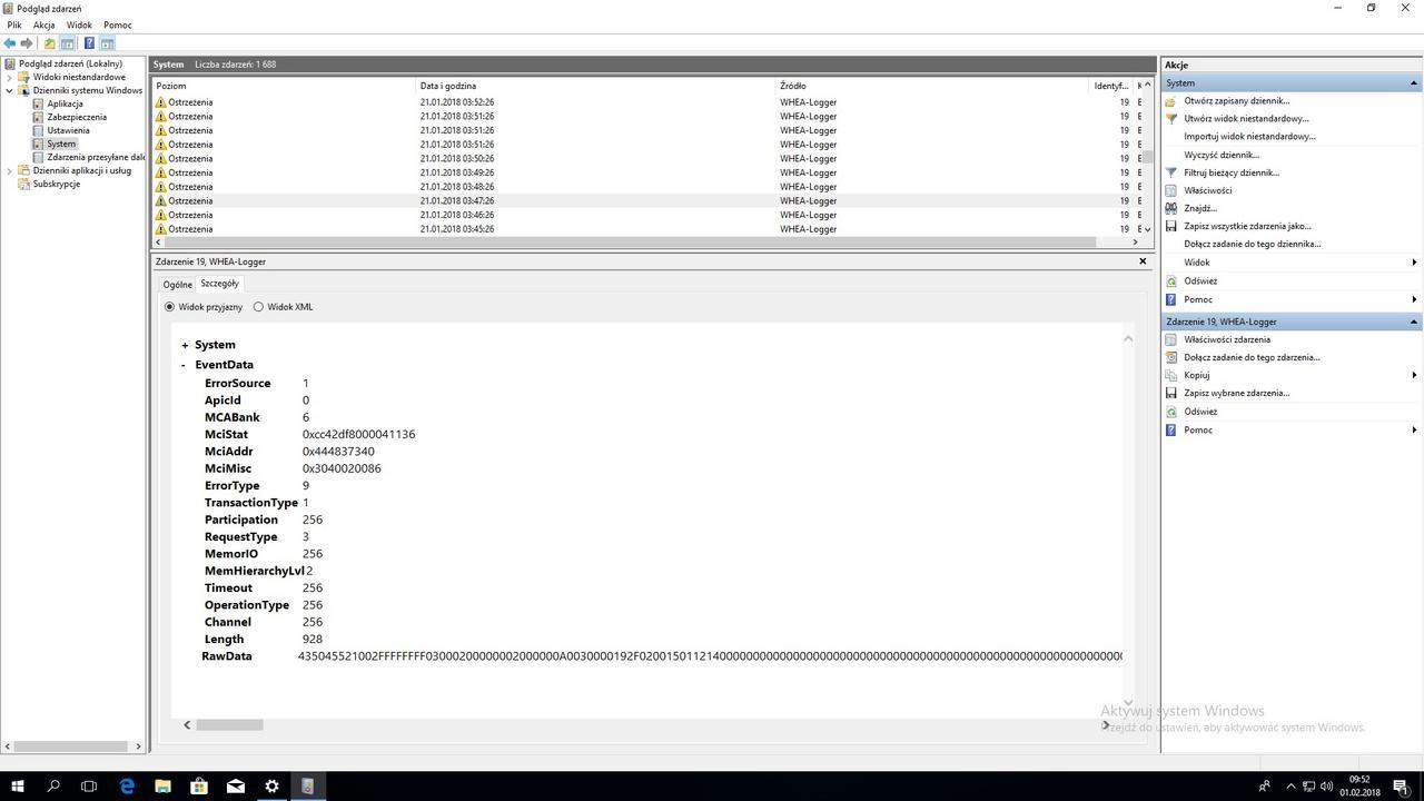 I need new uefi bios Asus Z370 Pro Gaming - Whea-logger 19 cache hiera u8.jpg