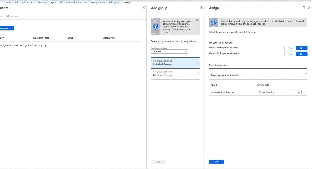 Set the Microsoft Whiteboard app on Surface Hub Uninstall-1024x555.png