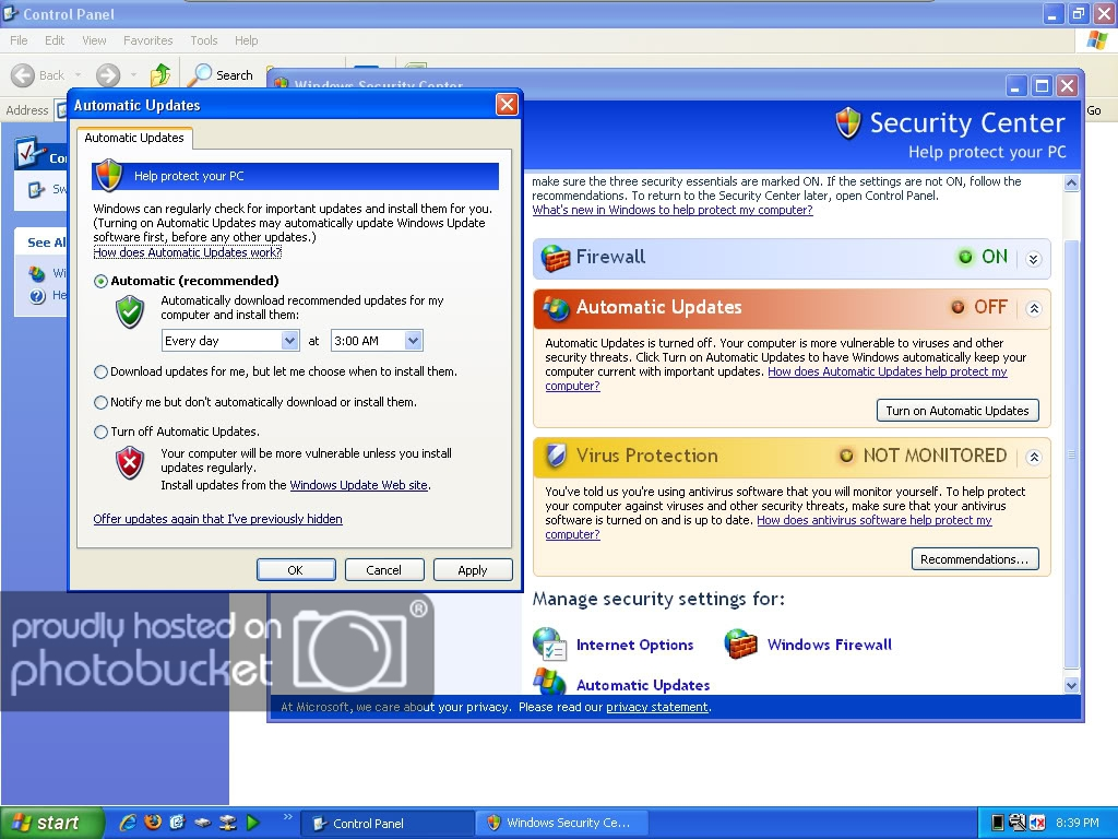 how to turn off windows defender automatic updates