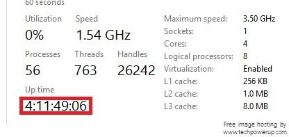 Windows 10 Pro 1809, the shutdown button problem uptime.jpg