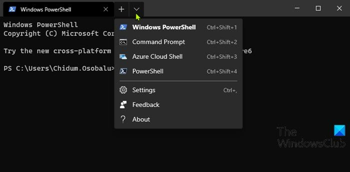 How to use Windows Terminal in Windows 10: Beginners Guide Use-Terminal-app-Switching-profiles.jpg