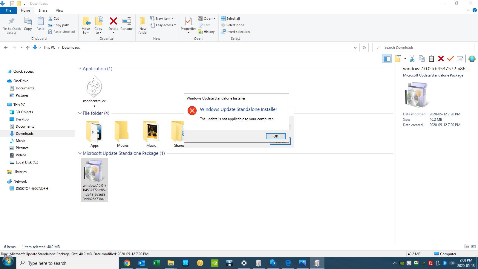 Windows 10 Pro 64 bit 1909, having problem installing net. framework? v0ktiJ.png